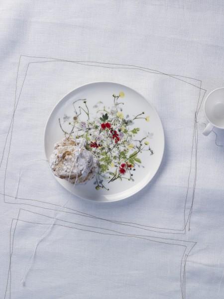 Rosenthal Teller flach 18cm Coup Fleurs Sauvages