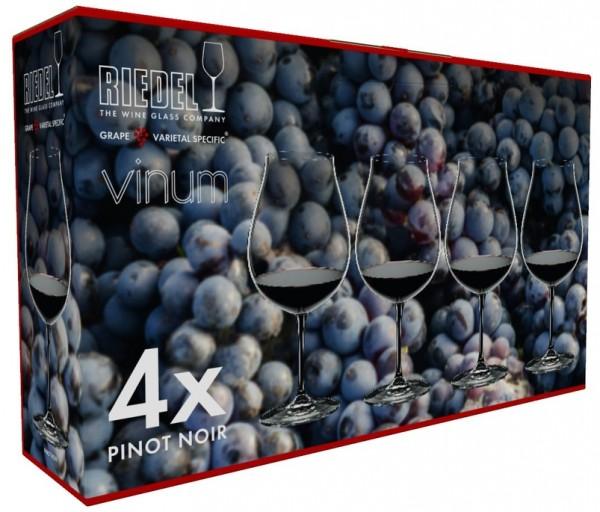 Riedel Pinot Noir Glas 4 Stück VINUM