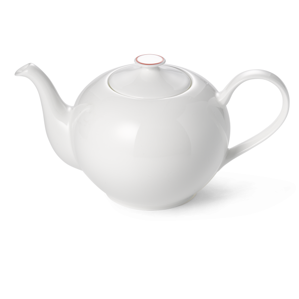 Dibbern Teekanne rund 1,3L rot SIMPLICITY