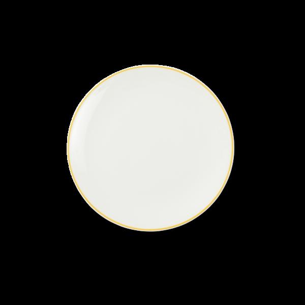 Dibbern Teller fl. 21cm gelb SIMPLICITY