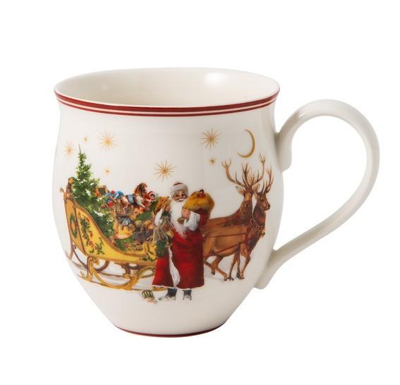 Villeroy & Boch Henkelbecher Santa mit Schlitten TOYS DELIGHT