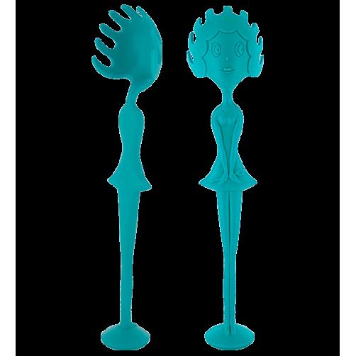 Spaghettilöffel (blau)