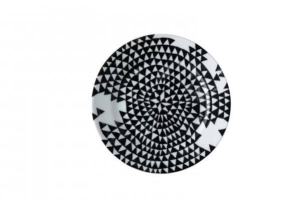 Rosenthal Teller flach 17cm MAGIC GARDEN BLACK SEEDS