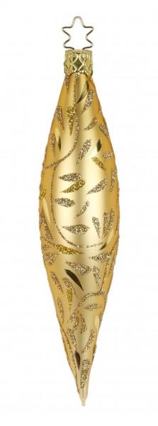 Inge's Christmas Decor Olive 15cm Deli.inkagold matt INGE'S CHRISTMAS