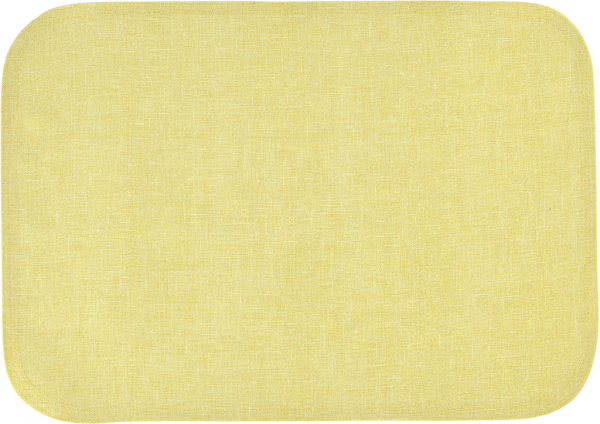 Sander Set 35x50 oval gelb BISTRO ALLEGRO abwischbar