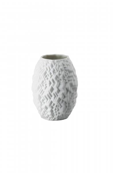 Rosenthal Vase Phi City 10cm weiß matt MINIATURVASEN