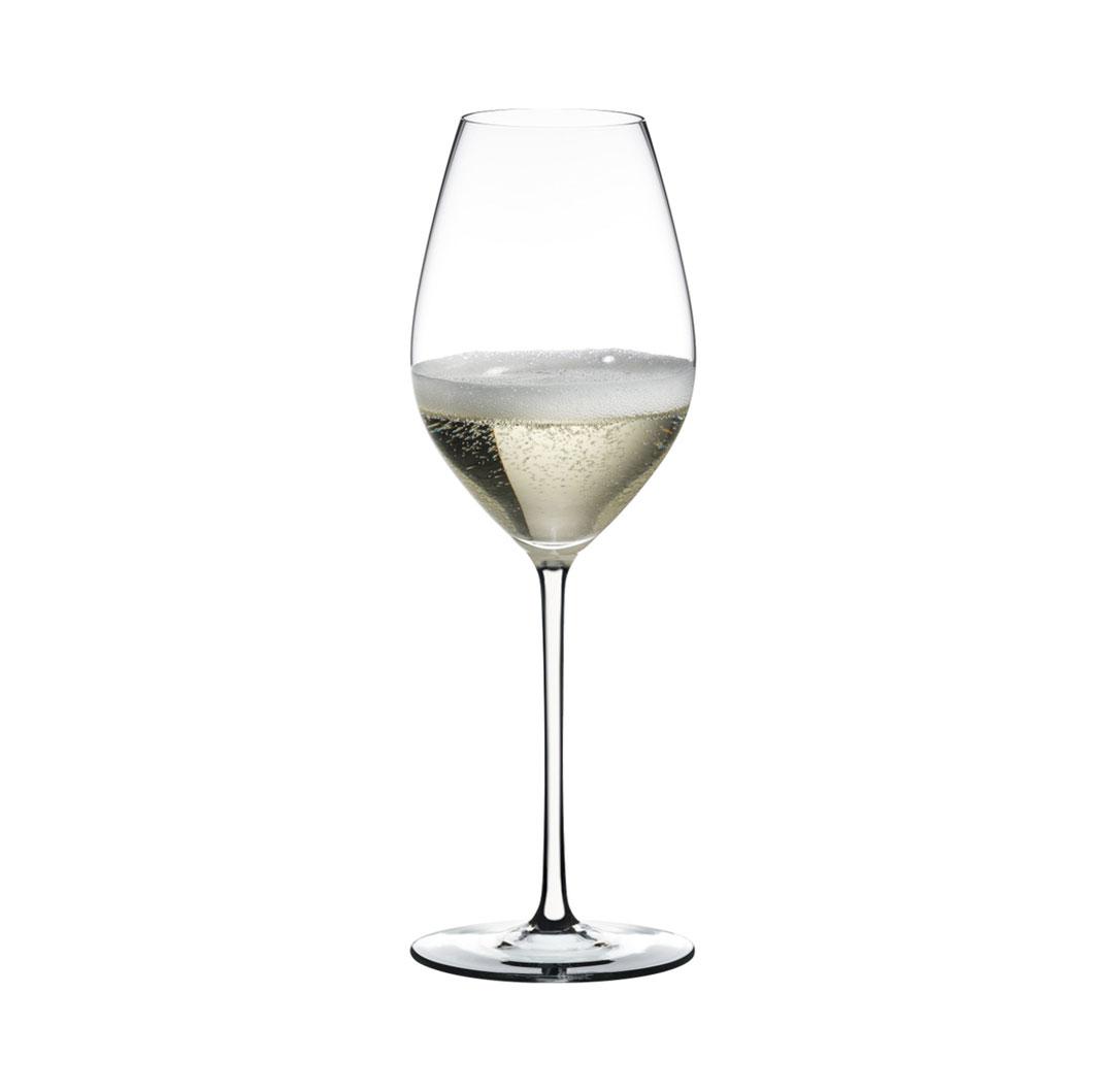 Champagnerglas FATTO A MANO (weiß)