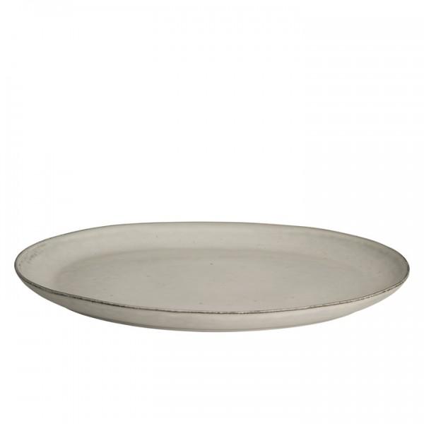 Broste Copenhagen Platte oval 26,5x35,5cm NORDIC SAND