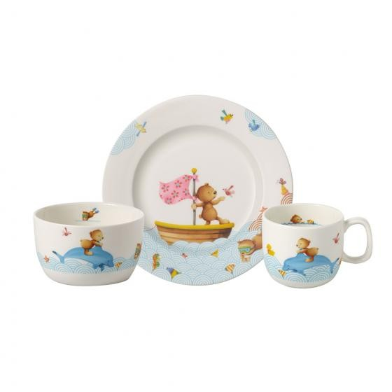 Villeroy & Boch Set 3tlg. HAPPY AS A BEAR