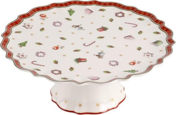 Villeroy & Boch Kuchenplatte auf Fuß klein TOYS DELIGHT