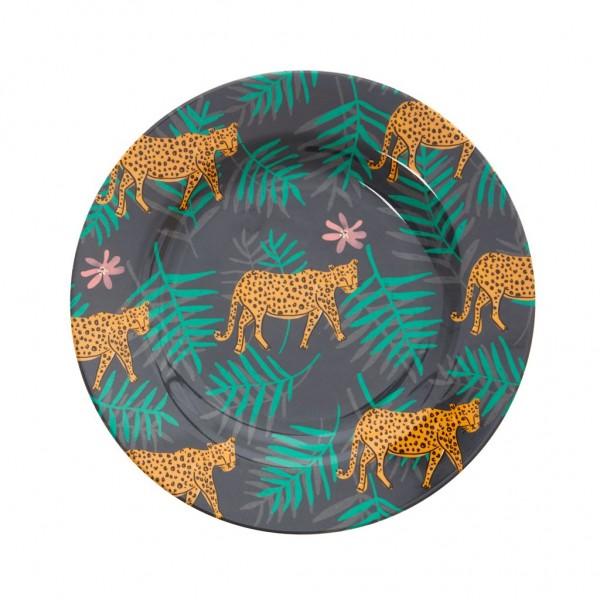 Rice Teller Leopard&Leaves