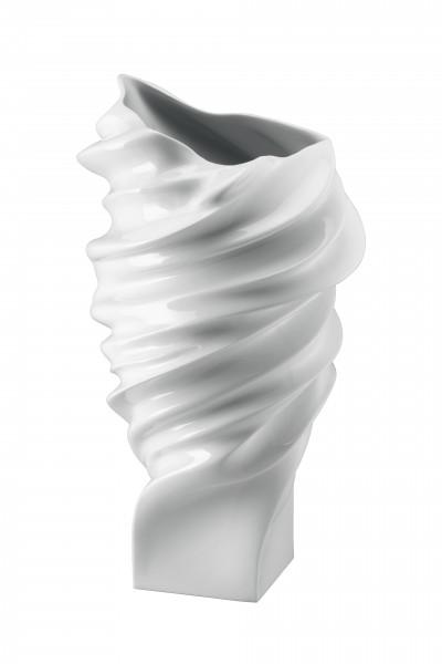 Rosenthal Vase 40cm weiß glasiert SQUALL
