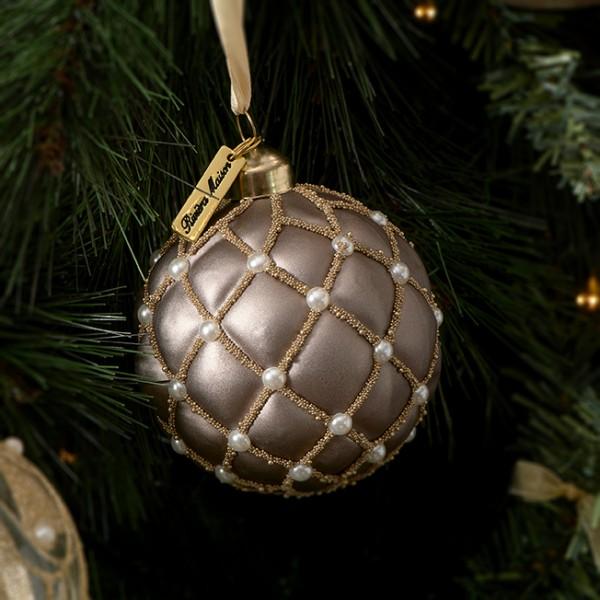 Rivièra Maison Ornament 8cm choco Ballad Mauv RIVIERA MAISON