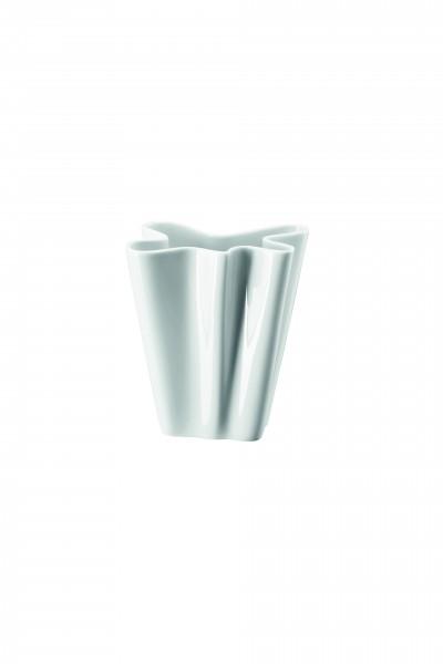 Rosenthal Vase 14cm FLUX WEISS