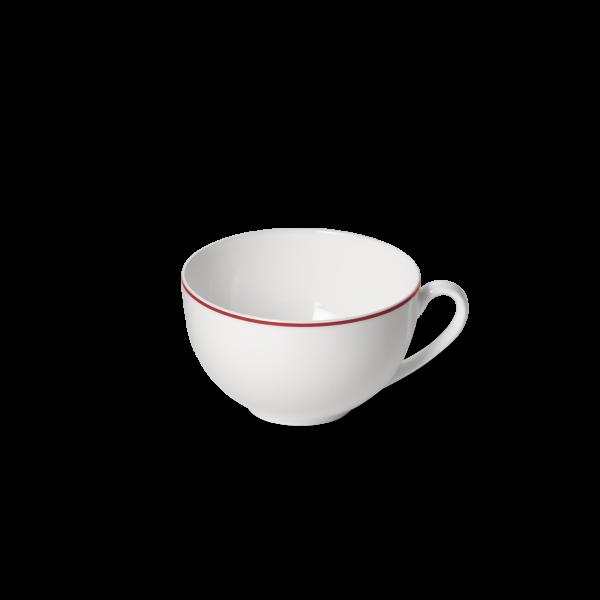 Dibbern Kaffee Obertasse 0,25L rot SIMPLICITY
