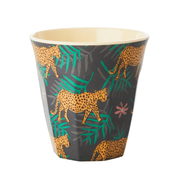 Rice Becher 9cm Leopard&Leaves