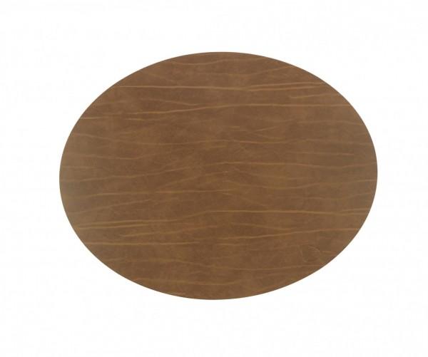 Tischset oval 35x46 schw.natur