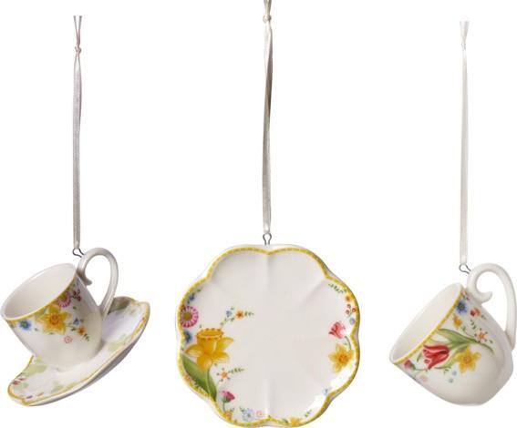 Villeroy & Boch Ornament Set 3tlg. SPRING AWAKENING
