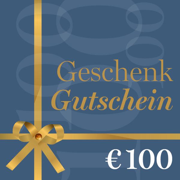 Geschenkgutschein €100