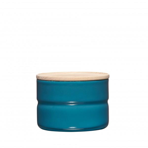 Riess Vorratsdose Höhe 6cm Durchmesser 8cm SILENT BLUE