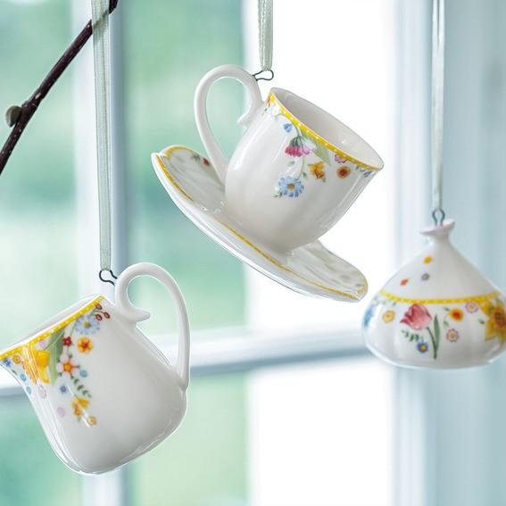 Villeroy & Boch Ornament Kaffeeset 3tlg. SPRING AWAKENING