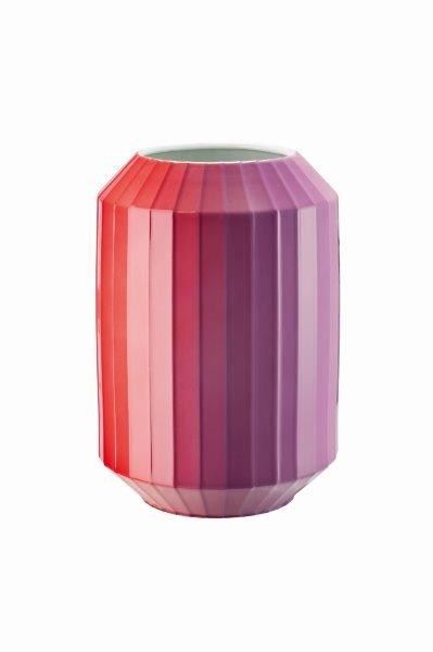 Rosenthal Vase 28cm HOT-SPOTS FLASHY RED