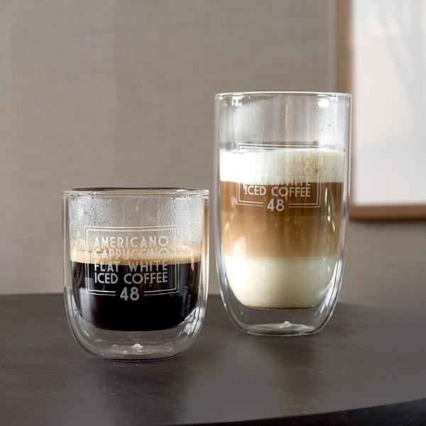 Rivièra Maison Glas M doppelwandig LOVE COFFEE 8.5 x Ø 7.7