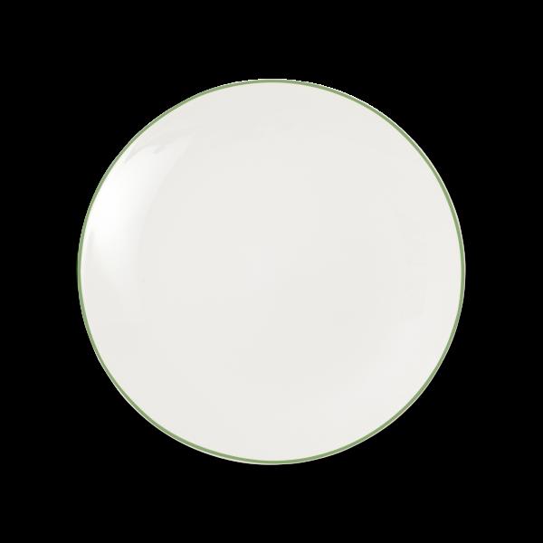 Dibbern Teller fl. 28cm grün SIMPLICITY