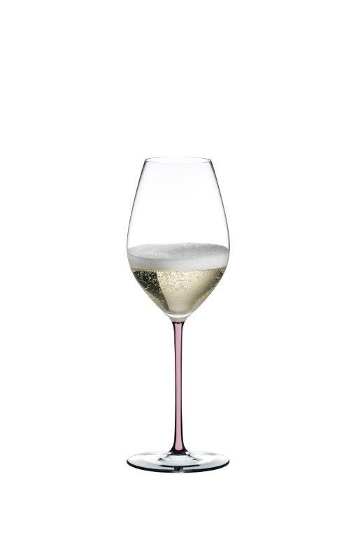 Champagnerglas FATTO A MANO (pink)