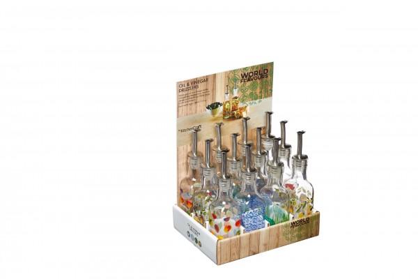 KitchenCraft Essig/Ölflasche 0,18L sort