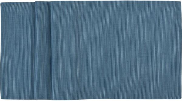 Sander Tischläufer 45x140cm blue shadow LANDSCAPE