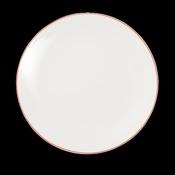 Dibbern Teller fl. 32cm rot SIMPLICITY