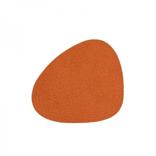 LindDNA Untersetzer curve 11x13 orange HIPPO