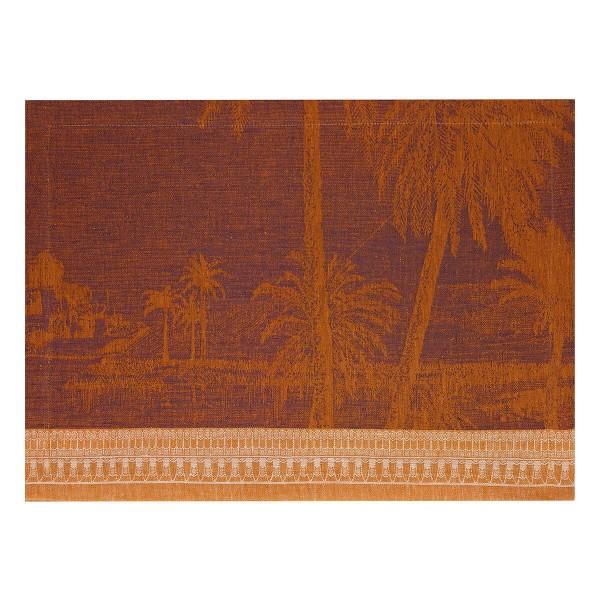 Le Jacquard Francais Set 50x36 Desert leinen CROISIERE SUR LE NIL