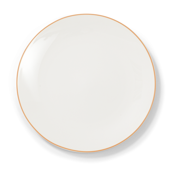 Dibbern Teller fl. 32cm orange SIMPLICITY