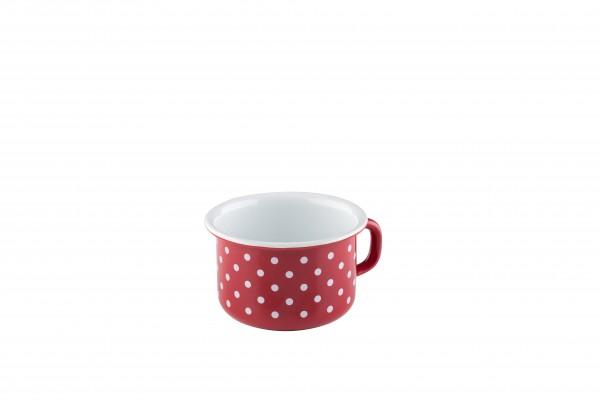 Riess Kaffeeschale 10cm PÜNKTCHEN ROT