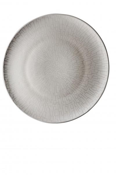 Rosenthal Platzteller 33cm TAC GROPIUS SKIN PLATIN
