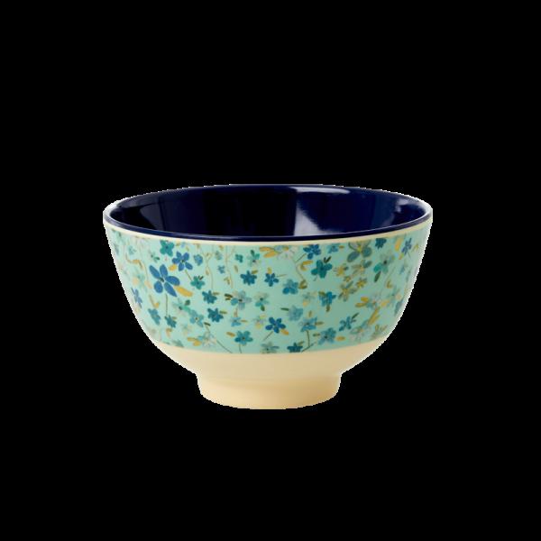 Rice Schale 11cm Blue Floral Print