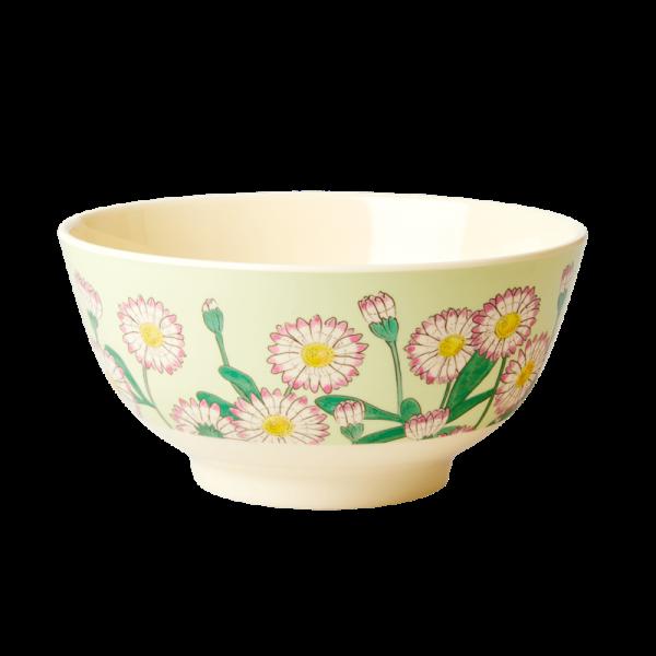 Rice Bowl 15cm Daisy Print
