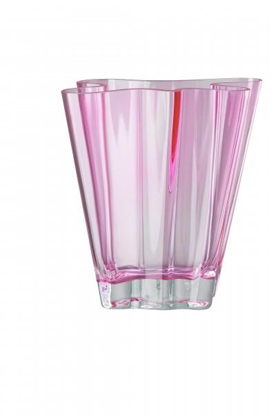 Rosenthal Vase 26cm FLUX ROSE