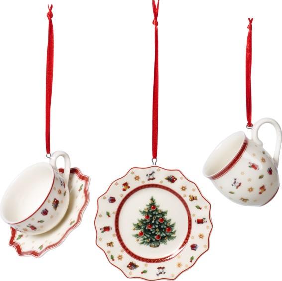 Villeroy & Boch Ornament Geschirrset 3tlg. TOYS DEL. DEC.