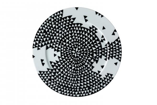 Rosenthal Platzteller 33cm MAGIC GARDEN BLACK SEEDS