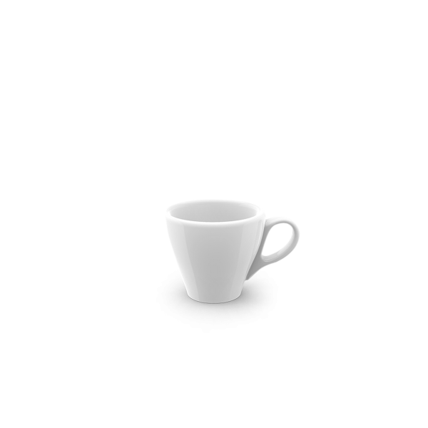 Dibbern Espresso Obere classico SOLID COLOR WEISS