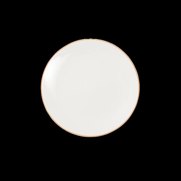 Dibbern Teller fl. 21cm orange SIMPLICITY