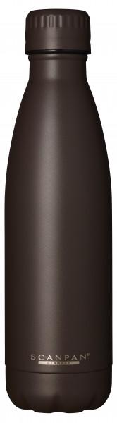 Scanpan Flasche 0,5L braun TO GO