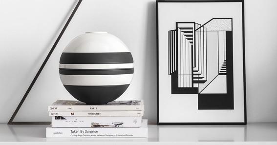 Villeroy & Boch La Boule schwarz&weiß ICONIC