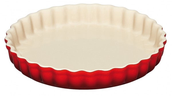 Le Creuset Tarte Form 28cm KIRSCHROT