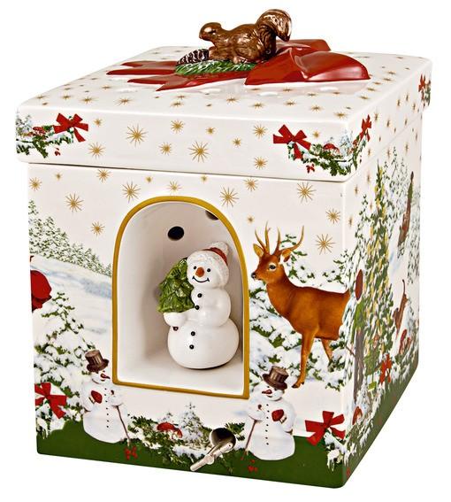 Villeroy & Boch Geschenkpaket groß eckig Weihnachtsbaum CHRISTMAS TOYS