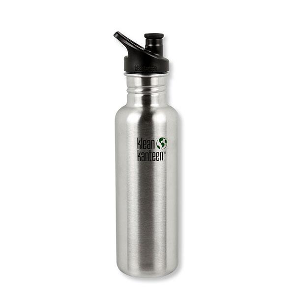 Flasche (stahl) 0,8l