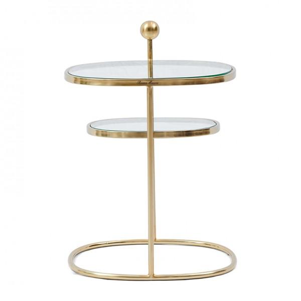 Rivièra Maison Beistelltisch gold LIBERTY HEXAGON 49 x 48.5 x 65